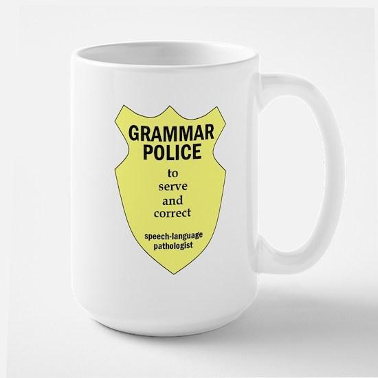 Grammar Police Speech Language Pathologist Large M