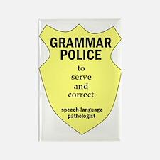 Grammar Police Speech Language Pathologist Rectang