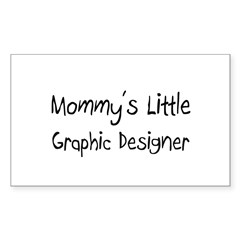 Mommy's Little Graphic Designer Decal