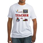 Teachers Do It With Class Fitted T-Shirt