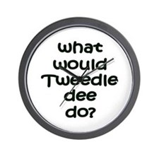 Tweedledee Wall Clock