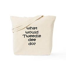 Tweedledee Tote Bag