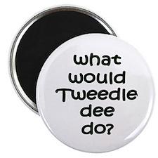 """Tweedledee 2.25"""" Magnet (100 pack)"""