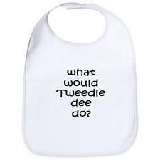 Tweedledee Bib