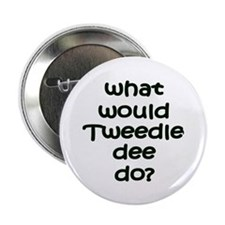 "Tweedledee 2.25"" Button (100 pack)"