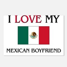I Love My Mexican Boyfriend Postcards (Package of