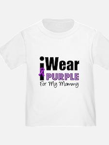 Purple Ribbon Mommy T