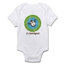 Hola Amigos - Hello Friends Infant Bodysuit