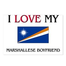 I Love My Marshallese Boyfriend Postcards (Package