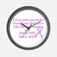 Back the hell off Wall Clock