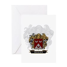 Boggs Family Crest Greeting Card