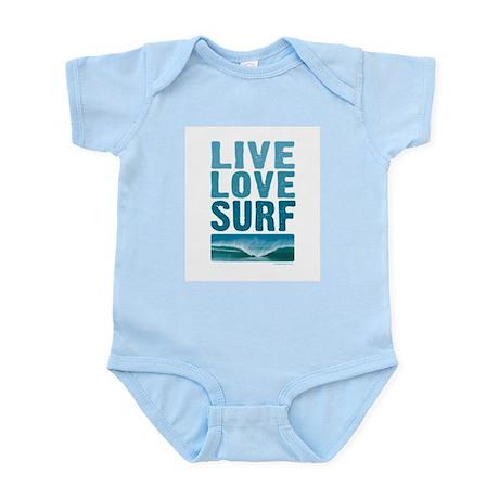 Live, Love, Surf - Infant Bodysuit