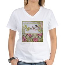 Chickadees and Daisies Shirt