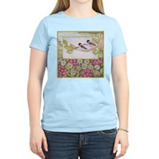Chickadees and Daisies T-Shirt