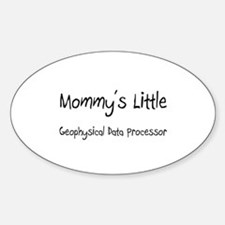 Mommy's Little Geophysical Data Processor Decal