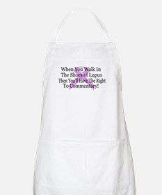 Walk in the shoes of Lupus BBQ Apron