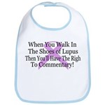 Walk in the shoes of Lupus Bib
