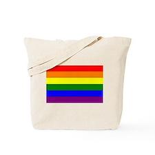 Rainbow Flag Tote Bag