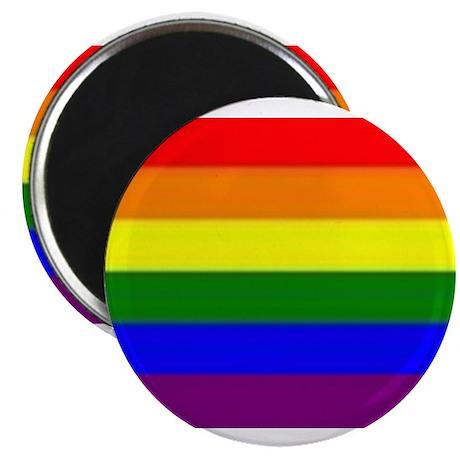 "Rainbow Flag 2.25"" Magnet (100 pack)"