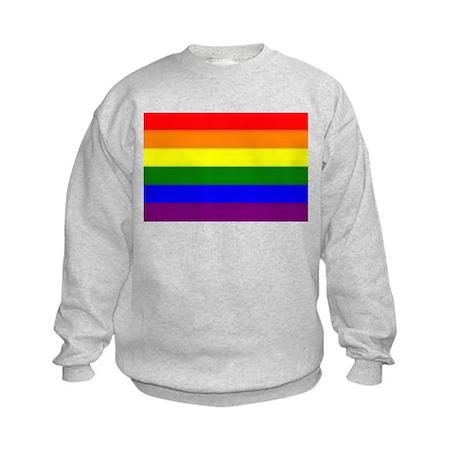 Rainbow Flag Kids Sweatshirt