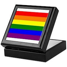 Rainbow Flag Keepsake Box