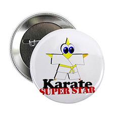 "Karate Super Star 2.25"" Button (10 pack)"