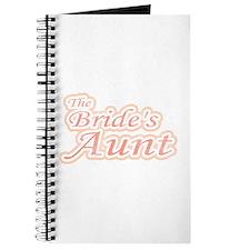 Bride's Aunt Journal
