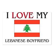 I Love My Lebanese Boyfriend Postcards (Package of