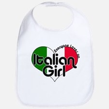Italian Girl Bib