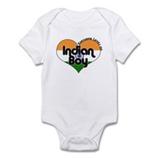 Indian Boy Infant Bodysuit