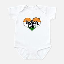 Indian Girl Infant Bodysuit