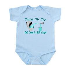 Toilet To Tap Infant Bodysuit