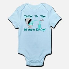 Toilet To Tap Infant Bodysuit