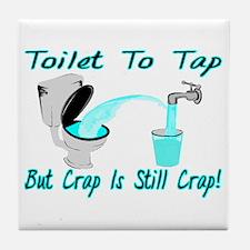 Toilet To Tap Tile Coaster