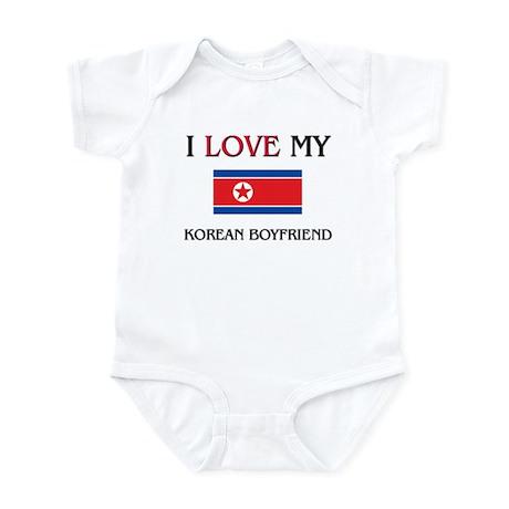 I Love My Korean Boyfriend Infant Bodysuit