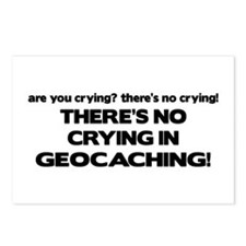 There's No Crying in Geocaching Postcards (Package