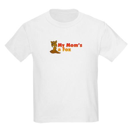 My Mom's a Fox Kids Light T-Shirt