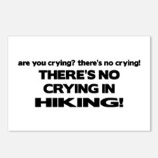 There's No Crying in Hiking Postcards (Package of