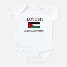 I Love My Jordanian Boyfriend Infant Bodysuit