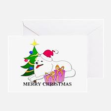 Samoyed Christmas Greeting Card