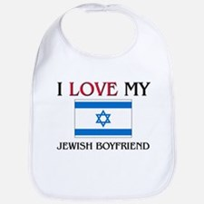 I Love My Jewish Boyfriend Bib