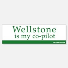 Wellstone copilot Bumper Bumper Bumper Sticker