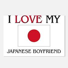 I Love My Japanese Boyfriend Postcards (Package of