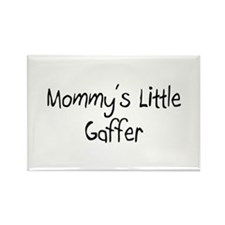 Mommy's Little Gaffer Rectangle Magnet
