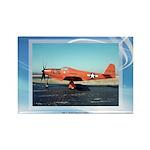 P-63 Kingcobra Rectangle Magnet (10 pack)