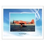 P-63 Kingcobra Small Poster