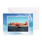 P-63 Kingcobra Greeting Cards (Pk of 10)