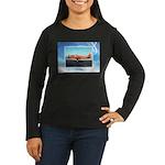 P-63 Kingcobra Women's Long Sleeve Dark T-Shirt
