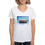 P-63 Kingcobra Women's V-Neck T-Shirt