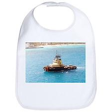 Harbor Tug Boat, Baby Bib